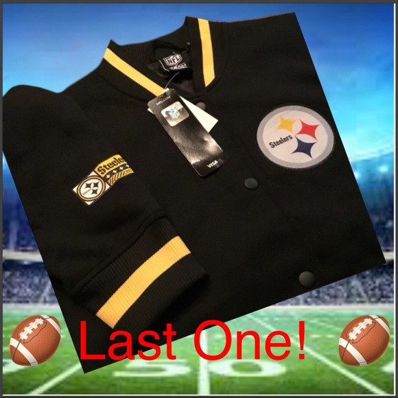 online store 73d58 8ff7a Pittsburgh Steelers NFL Apparel Jacket NWT